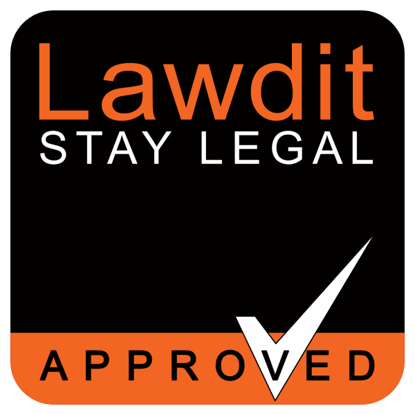 Stay legal logo large