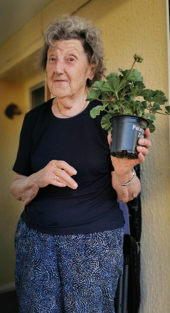 Operation Geranium with Care In The Garden and Age UK