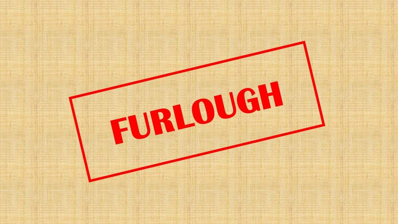 to indicate furlough