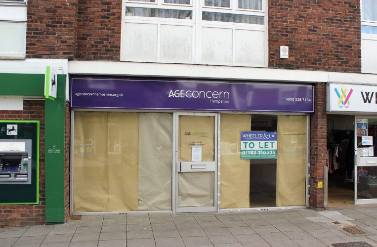 Shop front 20 West Street Wheeler and Lai Chartered surveyors